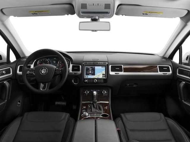 2017 Volkswagen Touareg Wolfsburg Edition Volkswagen