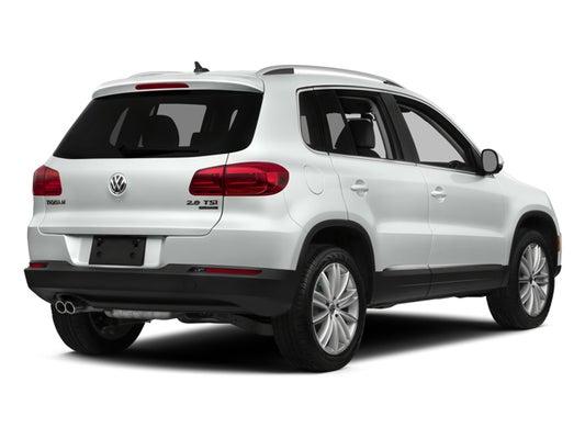 2016 Volkswagen Suv >> 2016 Volkswagen Tiguan S
